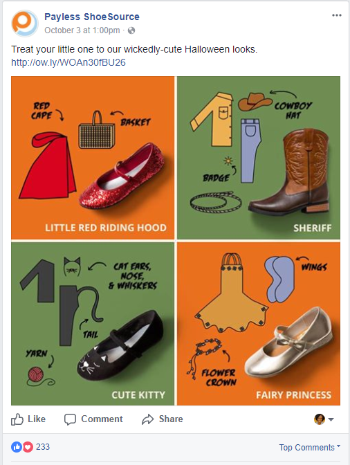 5 Ads de Halloween en Facebook Exitosos